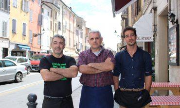 Parma, tortellata di San Giovanni in via D'Azeglio e via Inzani